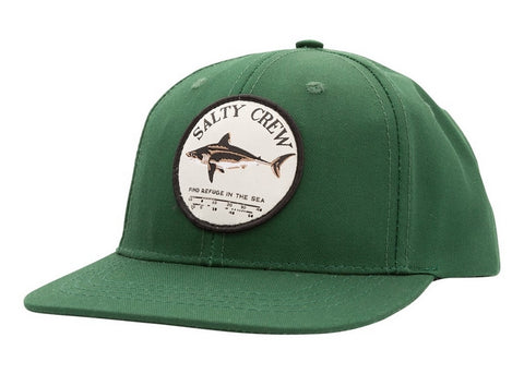 Salty Crew Bruce Boys 6 Panel Cap Spruce