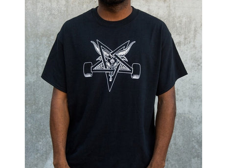 Thrasher T-shirt Blackout Black/White