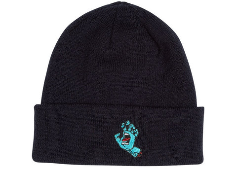 Santa Cruz Beanie Screaming Hand Black