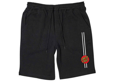 Santa Cruz Classic Dot Stripe Short Black