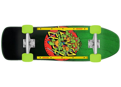 Santa Cruz X TMNT Cruzer Turtle Power 9.35 Complete