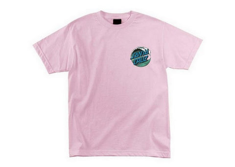 Santa Cruz T-shirt Wave Dot Pink