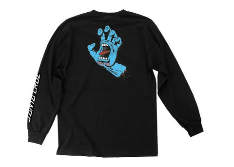 Santa Cruz Screaming Hand LS Black