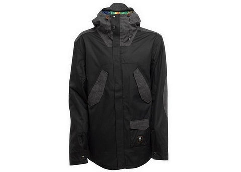 Manteau Sessions Wire Black