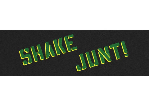Griptape Shake Junt Sprayed Green & Yellow