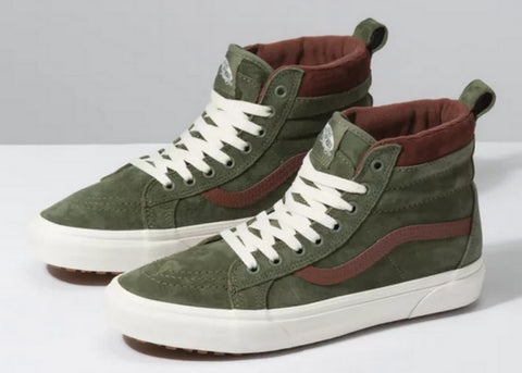 Vans Sk8-Hi MTE Deep Liche Green/ Root Beer