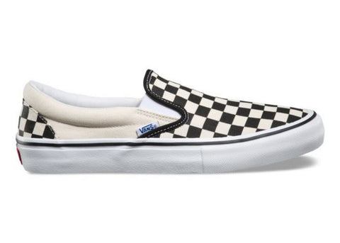 Vans Classic Slip-On Checkerboard Black/Off-White