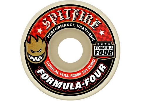 Spitfire Formula Four 101D Conical Full Classic 52mm, 53mm ,56mm