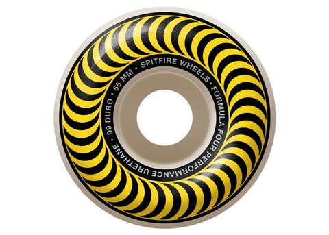 Spitfire Formula Four 99a Classic Yellow 55MM