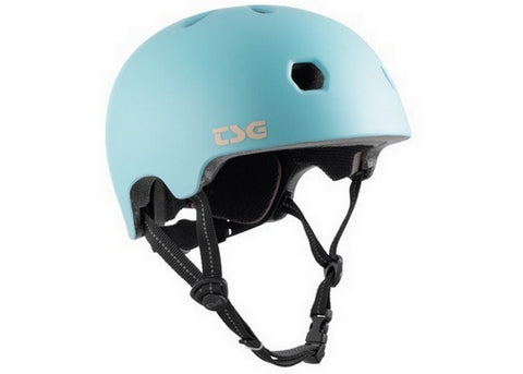 Casque TSG Meta Solid Color Satin Blue Tint