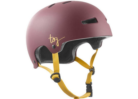 Casque TSG Evolution WMN Solid Color Satin Plum Red