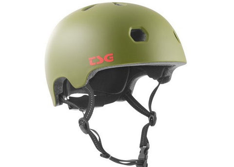 Casque TSG Meta Solid Color Satin Olive