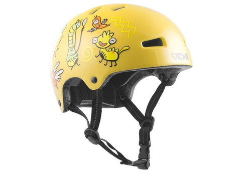 Casque TSG Nipper Mini Graphic Design Friendly Freaks Junior
