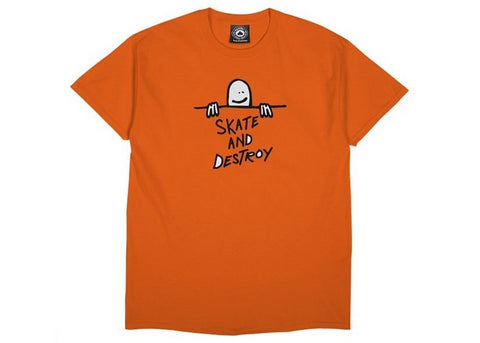 Thrasher T-shirt Gonz SAD Logo Orange
