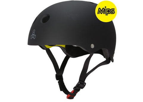 Casque Triple 8 Dual Certified Mips Black