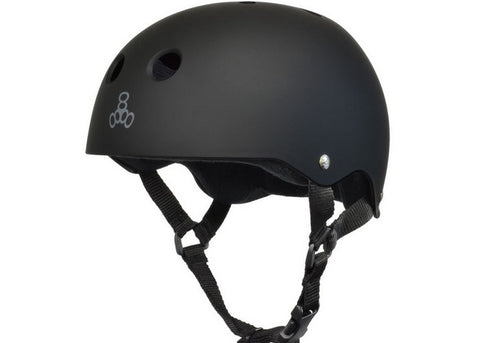 Casque Triple 8 Sweatsaver Black/Black