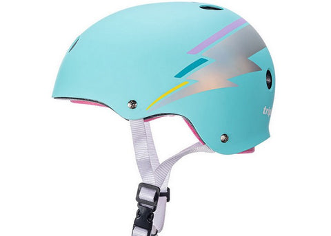 Casque Triple 8 Certified Sweatsaver Teal Hologram