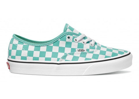 Vans Authentic Checkerboard Waterfall/True White