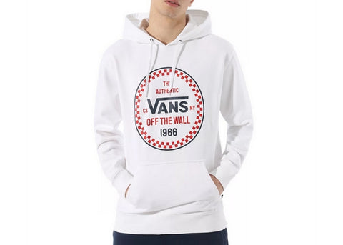 Vans Checker 66 Pullover Hoodie White
