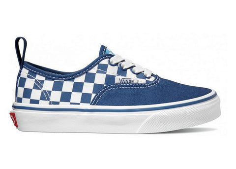 Vans Youth Authentic Elastic Checkerboard True Navy/Bonnie Blue