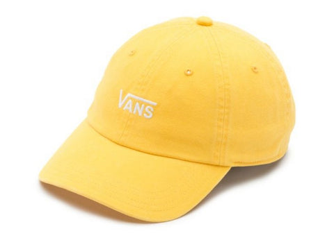 Vans Women Court Side Hat Yolk Yellow/White