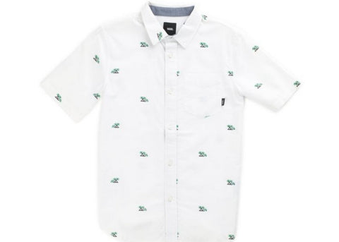 Vans Boys Houser S/S Shirt Palm Ditsy