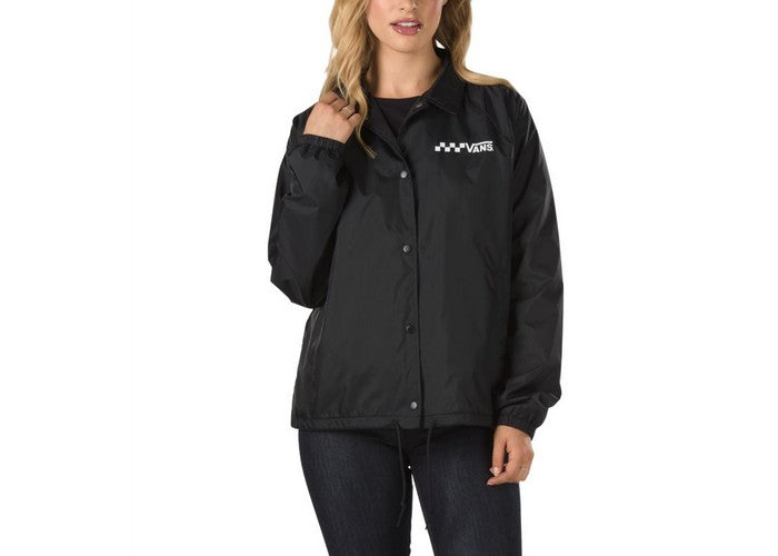 Vans Thanks Coach Jacket Black Boutique Rollin Board Supplies