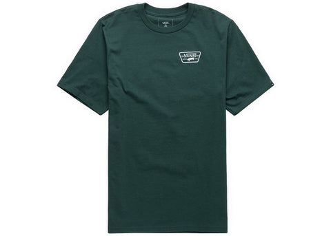 Vans Boys Full Patch Back T-Shirt Vans Trekking Green
