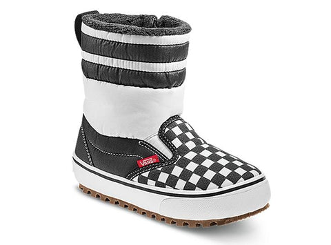 Vans Youth Slip-On Snow Boot MTE Checkerboard