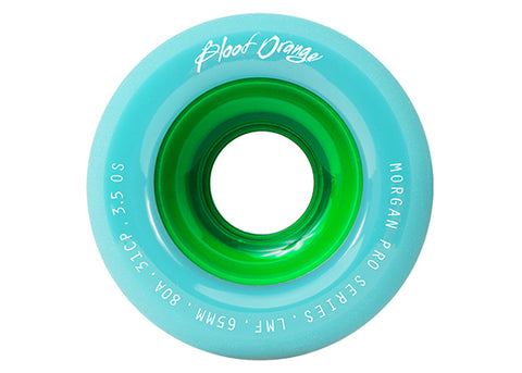 Blood Orange Morgan Pastel Series Seafoam 65mm 80a