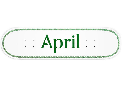 April Logo Helix Green 8.25
