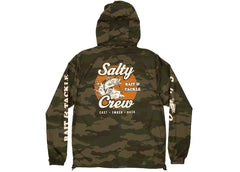 Salty Crew Bait and Tackle Windbreaker Camo