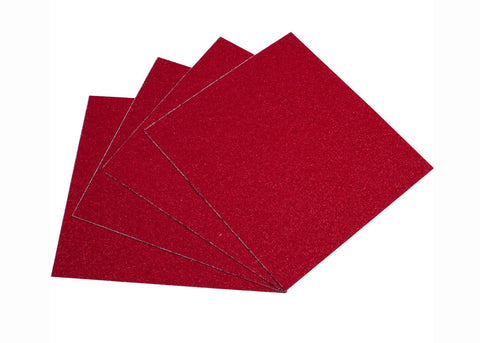 Griptape Blood Orange rouge paquet de 4 feuilles