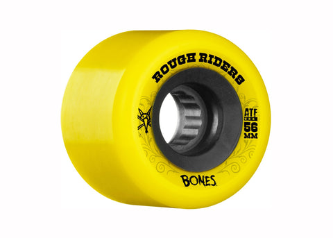 Bones ATF Rough Riders Yellow 56mm