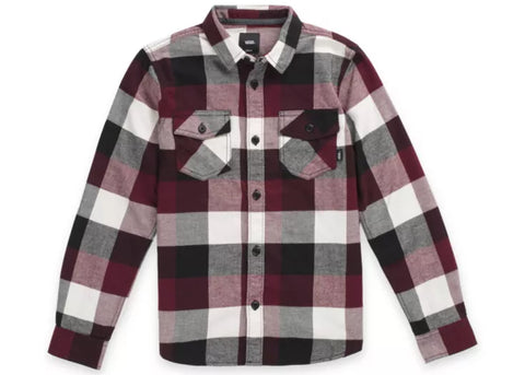 Vans Box Flannel Port Royale Black