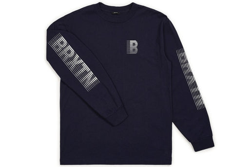 Brixton Commodore L/S Navy