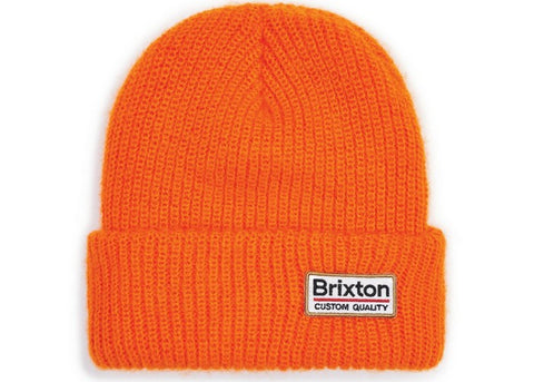 Brixton Palmer II Beanie Athletic Orange
