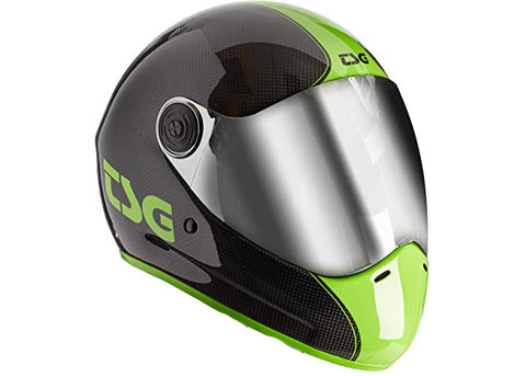 Casque TSG The Pass Pro Carbon Shoot (+Bonus Visor)