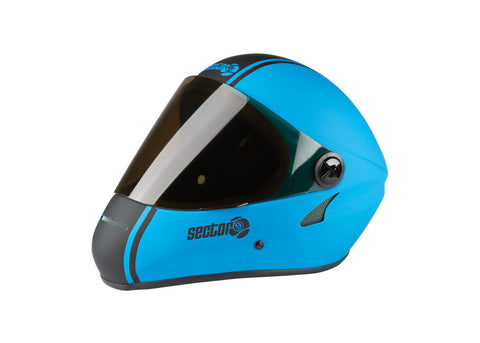 Casque Sector 9 The Channel Blue