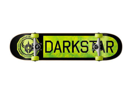 "Darkstar Timeworks Youth Neon Green 7.375"" complete"