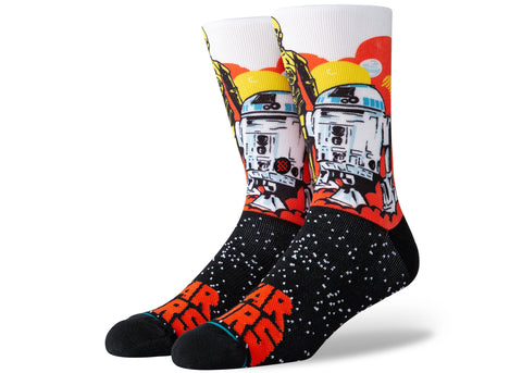 Stance Star Wars Droids Orange