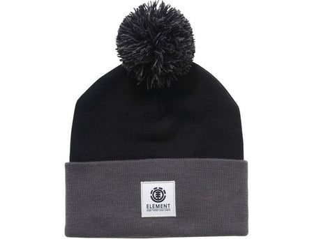 Element Dusk Pom Beanie Flint Black Stone Grey