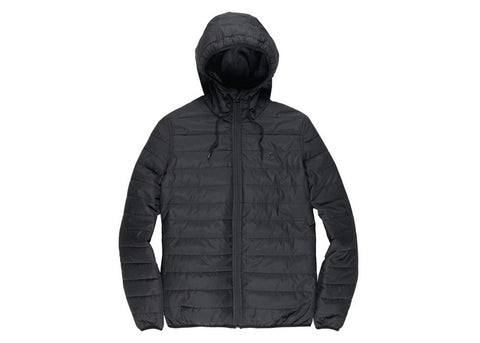 Element Alder Puff Travel Well Jacket Flint Black