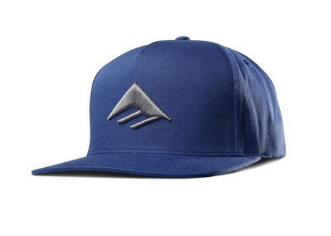 Emerica Triangle Snapback Cap Harbor Blue