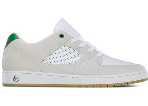 éS Accel Slim White/Green