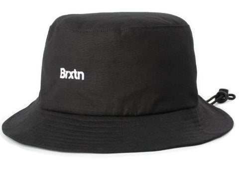 Brixton Gate Bucket Hat Black