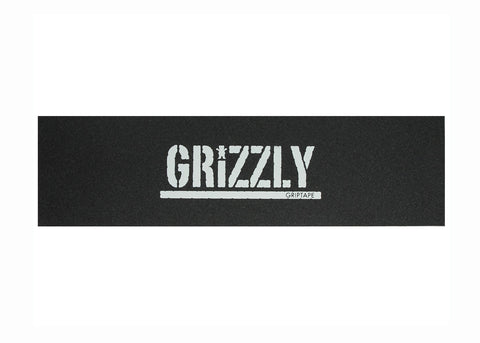 Griptape Grizzly Stamp White