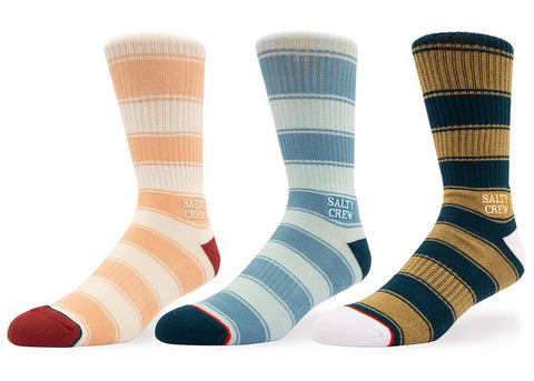 Salty Crew Harbor Socks 3 pack