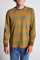 Brixton Hilt L/S Pocket Bison