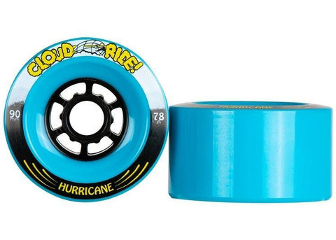 Cloud Ride Hurricanes Blue 90mm